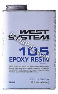 West System RESIN - 4.35 GALLON by WEST SYSTEM