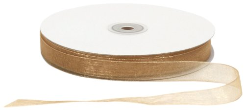 (Offray Berwick LLC 796076 Berwick Simply Sheer Asiana Ribbon - 5/8