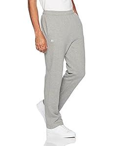 Starter Men's Open-Bottom Sweatpants, Prime Exclusive, Vapor Grey Heather, XL