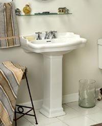 Barclay 3-854BQ Stanford Pedestal Sink
