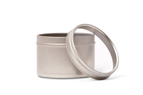 Pacific Bag 200-110SW Specialty Tins, 60 mm, Silver with Window Lid (Case of 96) by Pacific Bag