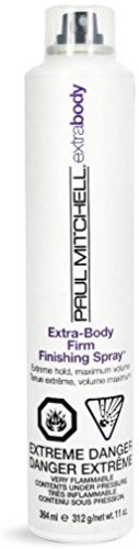 Paul Mitchell Extra-Body Firm Finishing Spray Hair Spray, 11 oz (Pack of 3) (Finishing Extra Firm Spray)