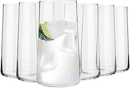 VIDRIO CRYSTALLINE – Gracias al vidrio Crystalline el conjunto de vasos es muy sólido y resistente a