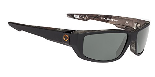 Spy Optic Dirty Mo Polarized Shield Sunglasses, Decoy True Timber/Happy Gray/Green Polar, 1.5 - Sunglasses Spy Cheap