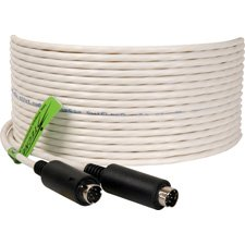 Plenum Visca Camera Control Cable 8-Pin Male to 8-Pin Male 100 Foot-by-TecNec by TecNec