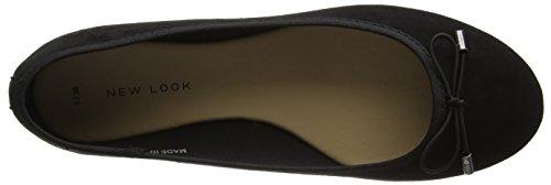 New Look Women's Kaglet Closed Toe Ballet Flats Black (Black 1) UEMRpW