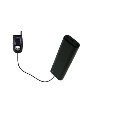 Portable Emergency AA Battery Charger Extender suitable for the Sanyo SCP-7050 - with Gomadic Brand TipExchange Technology