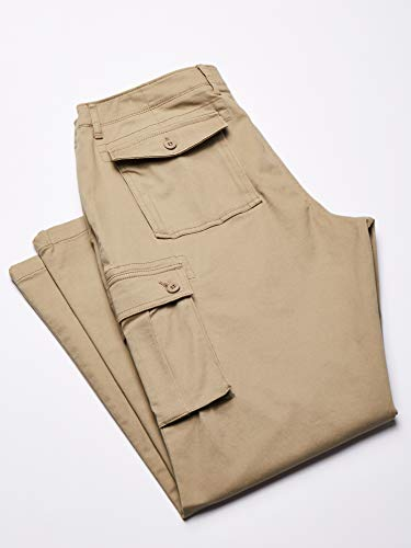 Amazon Essentials Straight-fit Cargo Pant – Casual-Pants – Straight-Fit Cargo Pant – Homme