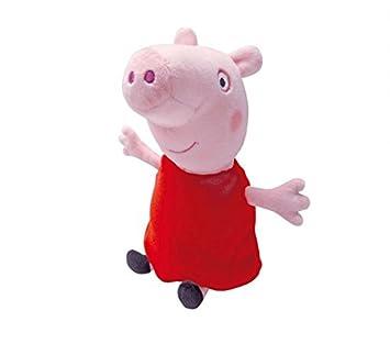 Peppa Pig - Peluche, 23 cm (Bandai 84873)