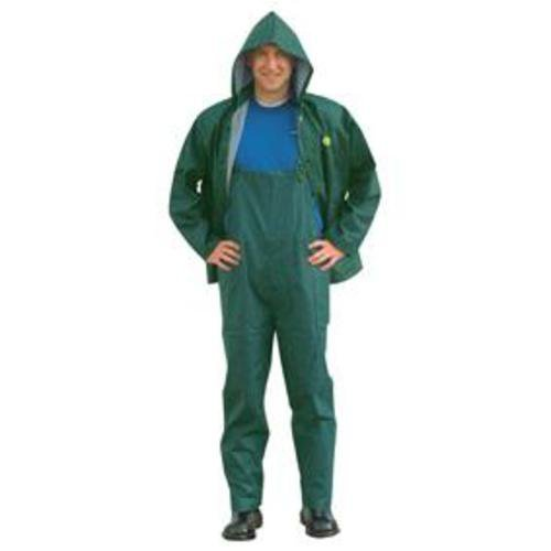 Onguard Rain Suit Sitex 3 Piece PVC on Polyester (Green, X-Large) ()