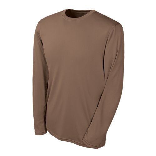 007df78387a8 Champion Tactical Men's Long Sleeve Double Dry T-Shirt, Army Brown,  2X-Large | Amazon.com