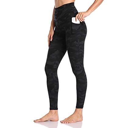 Colorfulkoala Women's High Waisted Yoga Pants 7/8 Length Leggings with Pockets 31Il8 BfktL