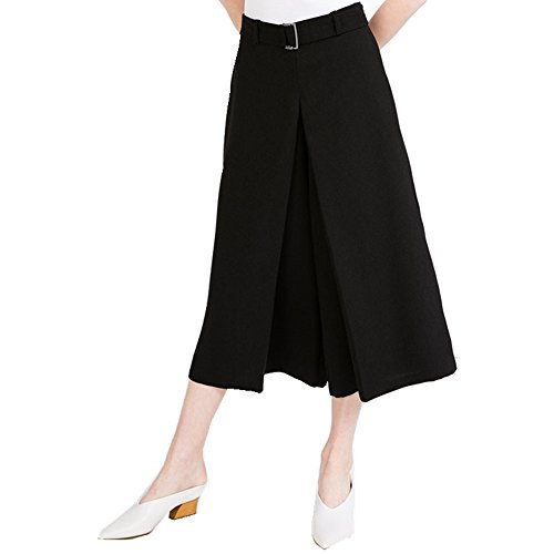 67ae92c438bc80 OMONSIM Women Wide Leg Palazzo Capri Culottes Gaucho Pants | Weshop ...