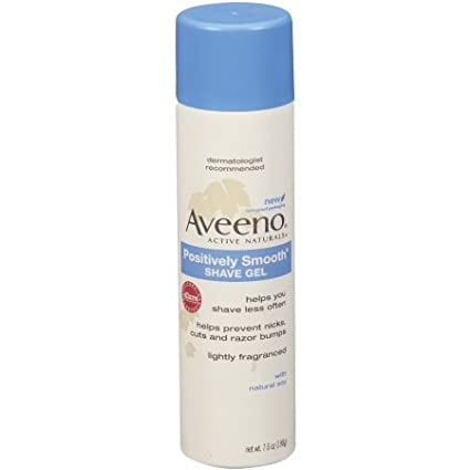 PACK OF 3 EACH AVEENO SHAVE GEL SMOOTH 7OZ PT#38137003859 Marble Medical