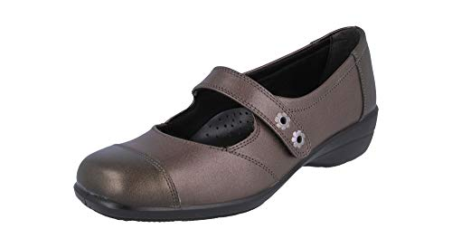 Two Women Width 4E Extra Lisbon Fit Espresso Ladies Tone Db Jane Shoes Mary Shoes Wide 8a7P7q