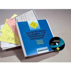 Sexual Harassment For Managers And Supervisors DVD Program (V0000489EM)