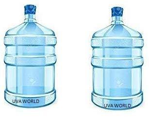 Uva World Universal Plastic Water Dispenser Bottle (Blue) – 20 LTR Pack of 2 Pieces Price & Reviews