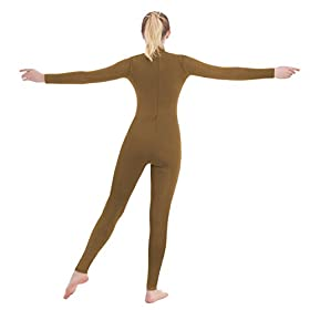 - 31IlGNH3u0L - Unisex Turtleneck Footed/Footless Long Sleeve Lycra Spandex Unitard
