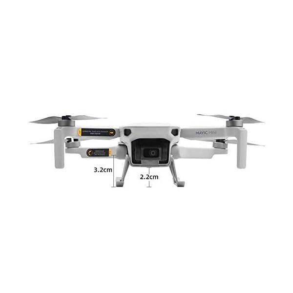 Linghuang Carrello di Atterraggio Esteso Proteggi Gambe Estensione per DJI Mavic Mini / Mini 2 Drone Accessori 3 spesavip