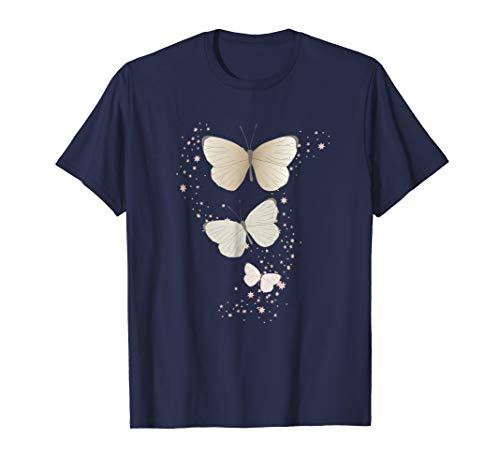 (Cute Unique & Trendy Vintage Sparkle Butterfly Gift T-Shirt)