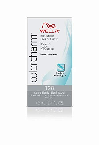 (Wella Color Charm Permanent Liquid Hair Toner (T28 Natural Blonde))