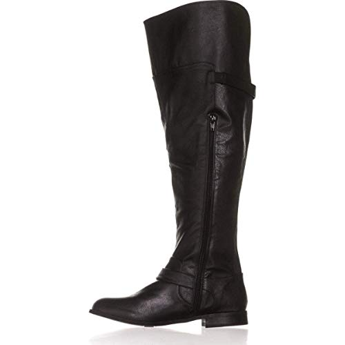 Bar Iii Womens Daphne Wide Calf Almond Toe Over Knee Fashion Boots