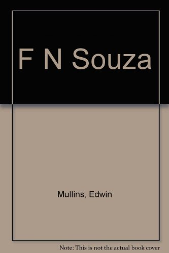 F. N. Souza, an Introduction