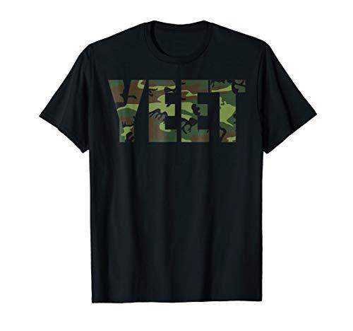 Yeet Shirt Funny Dank Meme Camo Shirts Gift