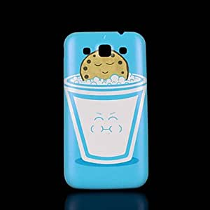 HJZ Milk Pattern Cover fo Samsung Galaxy Win I8552 Case