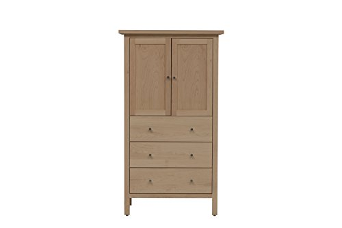 Urbangreen HUD7MUnf Hudson Armoire in Maple, -