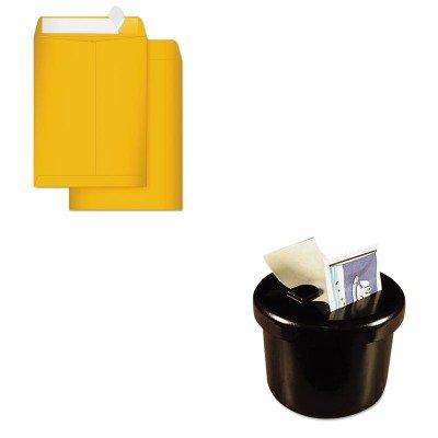 KITLEE40100QUA41420 - Value Kit - Quality Park Durable Kraft Catalog Envelopes (QUA41420) and Lee Ultimate Stamp Dispenser - Dispenser Stamp Ultimate