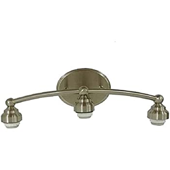 portfolio 3 light rubbed bronze bathroom vanity light 26516