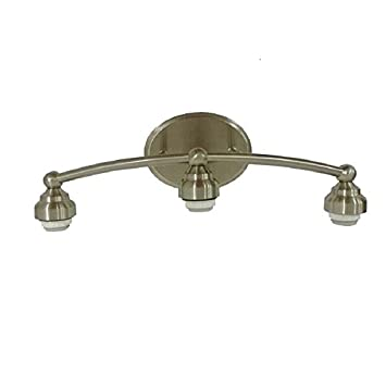 Amazoncom Portfolio 3 Light Brushed Nickel Vanity Light Bar