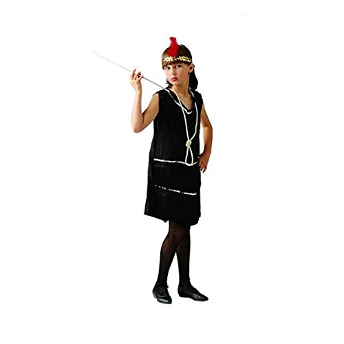 RG Costumes 91033-R-S Deluxe Red Flapper Costume - Size Child-Small (Deluxe Flapper Girl Costume)