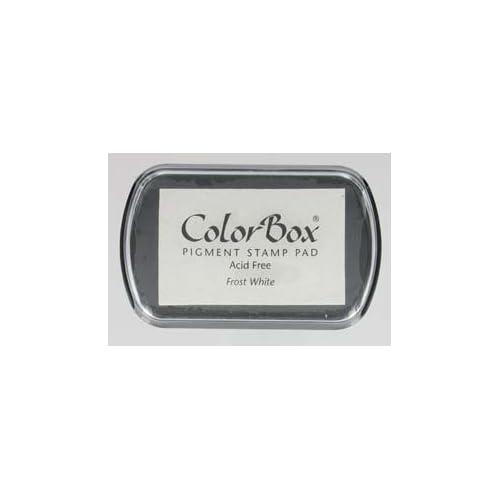 Colorbox - Tampon Encreur De Couleur blanc 70x45 mm