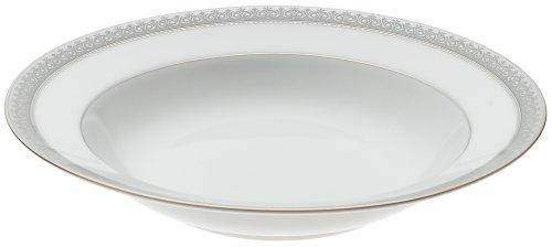 Platinum Rim Soup Plate - Mikasa Platinum Crown Rim Soup Plate