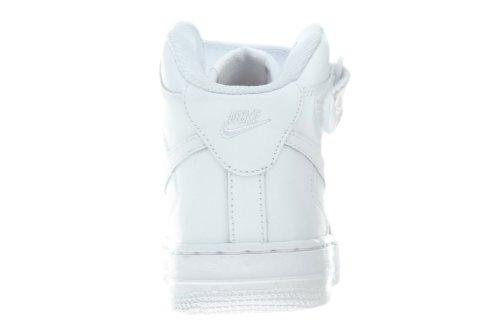 ps Mid Nike De Force 1 Niños Blanco Baloncesto Zapatillas qPPrtAHp
