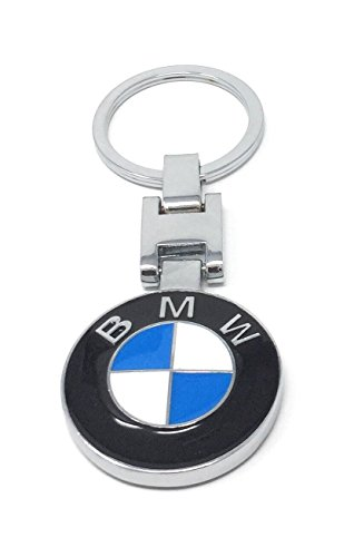 Bmw Key Chain Both Side Bmw Brand Logo Special  Cheetah  Edition Bmw Key Ring