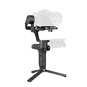 Zhiyun WEEBILL LAB 3-axis Handheld Gimbal Stabilizer for Sony A7S A7M3 A7R3 A7R2 A7S2 A6500 A6300 A6000 Panasonic GH5 GH5s and Other Mirrorless Cameras (Standard Package - Only Gimbal,Tripod,Cables)