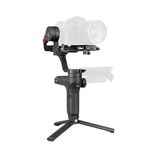 Zhiyun WEEBILL LAB 3-axis Handheld Gimbal Stabilizer for Sony A7S A7M3 A7R3 A7R2 A7S2 A6500 A6300 A6000 Panasonic GH5 GH5s Nikon Z6 Z7 Mirrorless Cameras (Standard Package - Only Gimbal,Tripod,Cables) (Best Mirrorless Camera 2019 Under 1000)