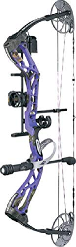 Diamond Edge SB-1 Compound Bow Package Purple Blaze Left Han