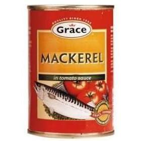 "Grace Mackerel ""Tin Mackerel"", 5.5oz Made in Jamaica"