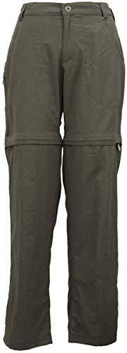 White Sierra Women Sierra Point Convertible Pant, Dark Olive, S ()