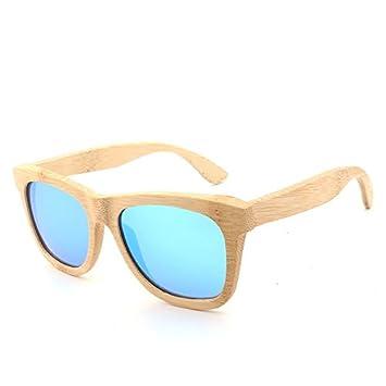 Jusheng Gafas de Sol polarizadas de Madera de los Hombres/de Las Mujeres Gafas de