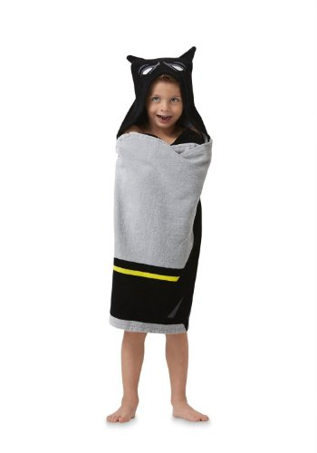 "Batman Hooded Towel Wrap/Poncho 24"" X 50"""