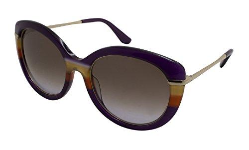 Sunglasses FERRAGAMO SF724S 506 VIOLET-ORANGE by Salvatore Ferragamo