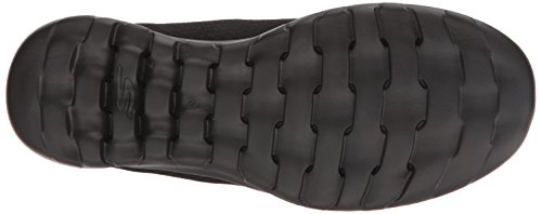 Skechers Mujeres Go Walk Lite-15350 Wide Sneaker Black