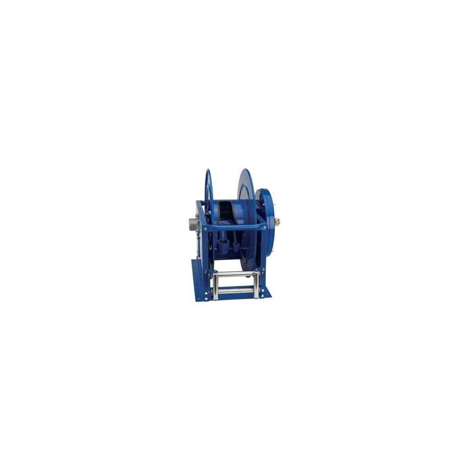 Coxreels VA DLPL 825 Dual Hose, Vacuum Only Spring Rewind 1 1/2 I.D., 50 hose capacity, less hose