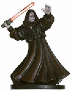 Star Wars Miniatures: Emperor Palpatine, Sith Lord 59 - Revenge of the Sith