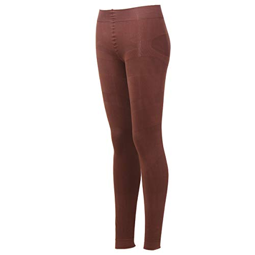 - Shaping Tights Shaper Pantyhose Control Top Shapewear Footless Tights Leggings 400D(Coffee)